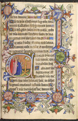 Psalm 97 (98), in the St.-Omer Psalter